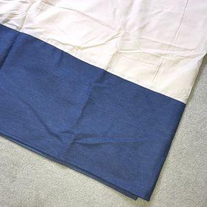 The Company Store tailored Full denim bedskirt